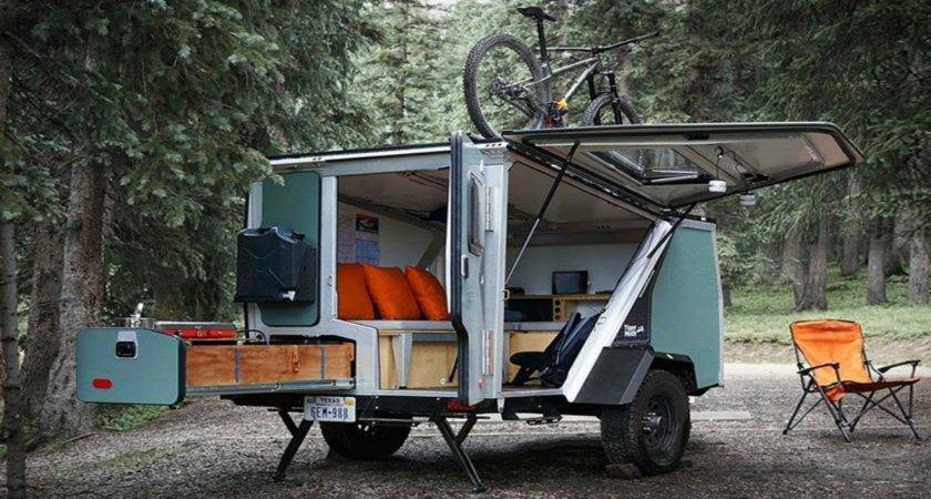 Modular Camper Trailer Tiny Mobile Home Small House