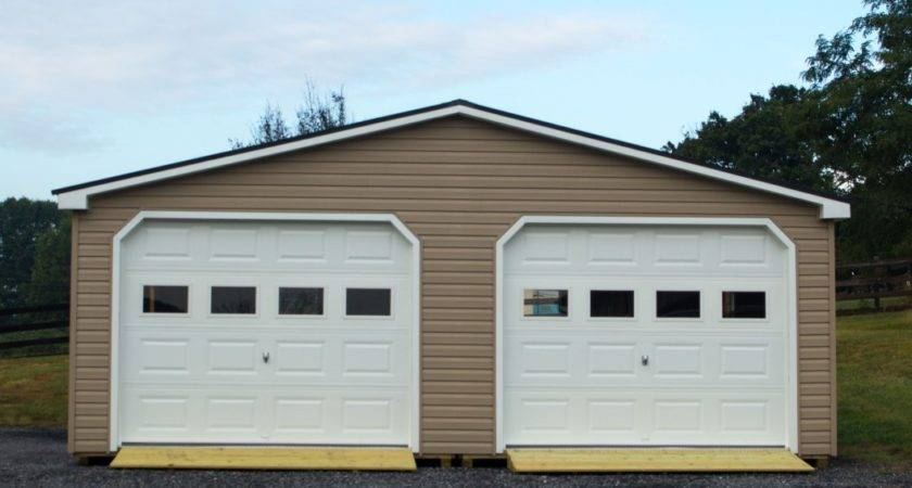 Modular Car Garage Double Wide Byler Barns