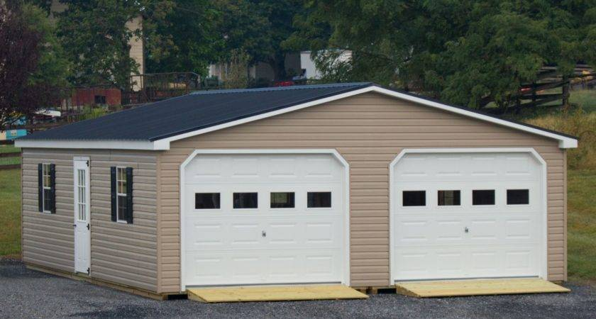 Modular Car Garage Double Wide Byler Barns
