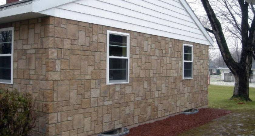 Modular Home Design Artificial Brick Stone Panels