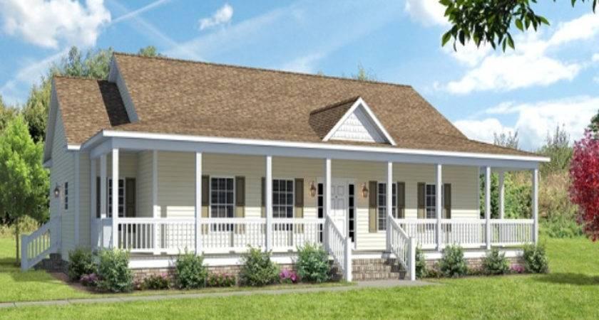 Modular Home Floor Plans Wrap Around Porch