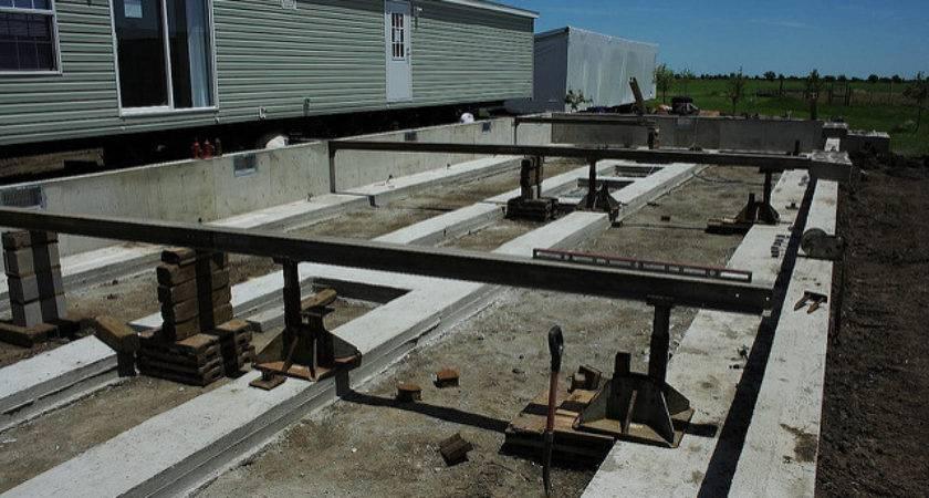 Modular Home Homes Foundations