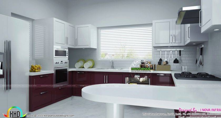 Modular Kitchen Kerala Home Design Floor Plans