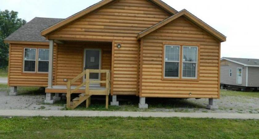 Modular Log Home Model Sold Order Only Manufactured Homes