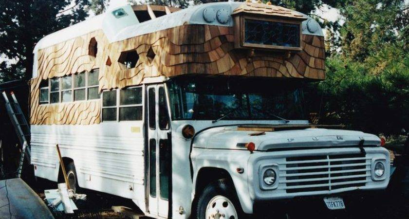 Moon Rolling Homes Awesome School Bus