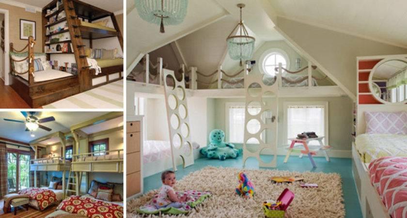 Most Amazing Design Ideas Four Kids Room