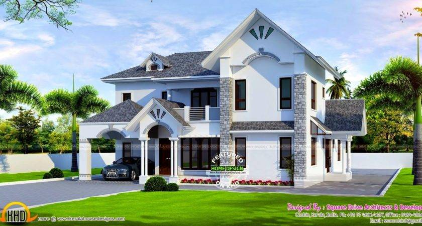 Most Beautiful House Plan Remarkable European Style Modern