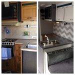 Motorhome Remodel Glamper Before After Camper