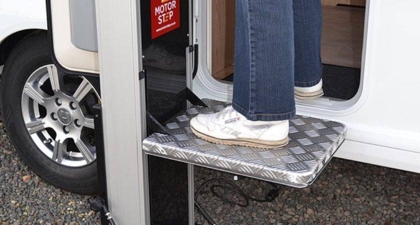 Motorstep Motorised Portable Step Motor Home Your