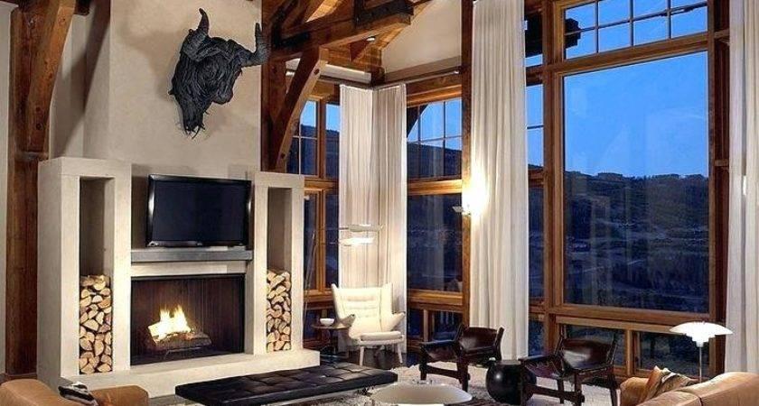 Mountain Home Decor Room Rustic Wet Bar