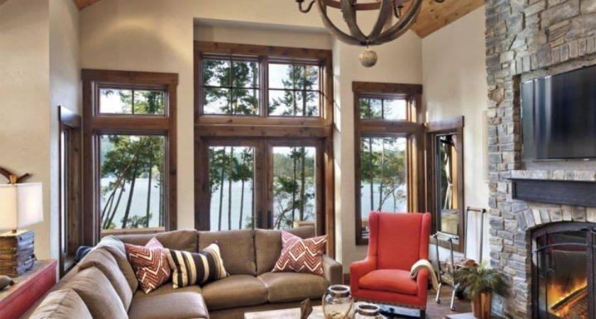 Mountain Home Interior Design Cabin Decorating