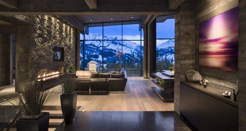 Mountain Mimic Interior Beautiful House