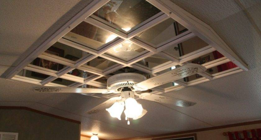 Mounting Ceiling Fan Mobile Home Tiles