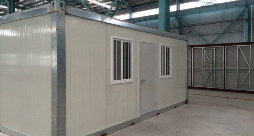 Movable Flat Pack Modular Prefab Shipping Container House