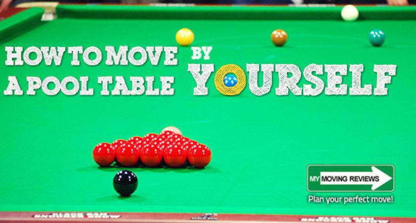 Move Pool Table Yourself Complete Step