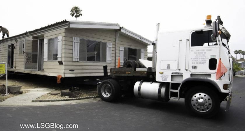 Moving Half Mobile Home Lakeshore Gardens