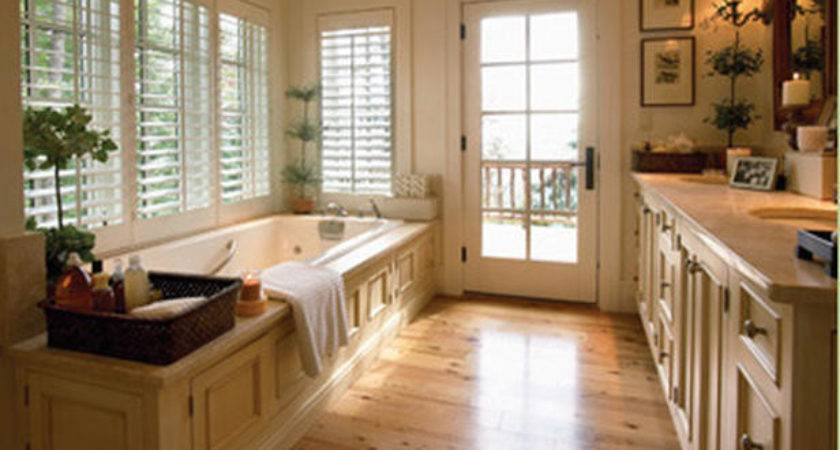 Mrs Wood Floor Bathroom