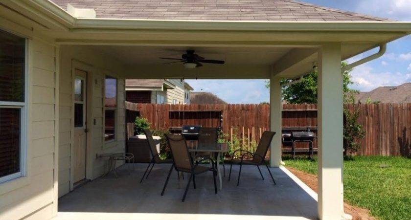 Much Does Cost Build Patio Houston Texas