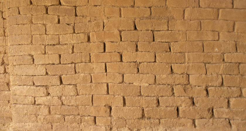 Mud Brick Wall Ashkelon These Original