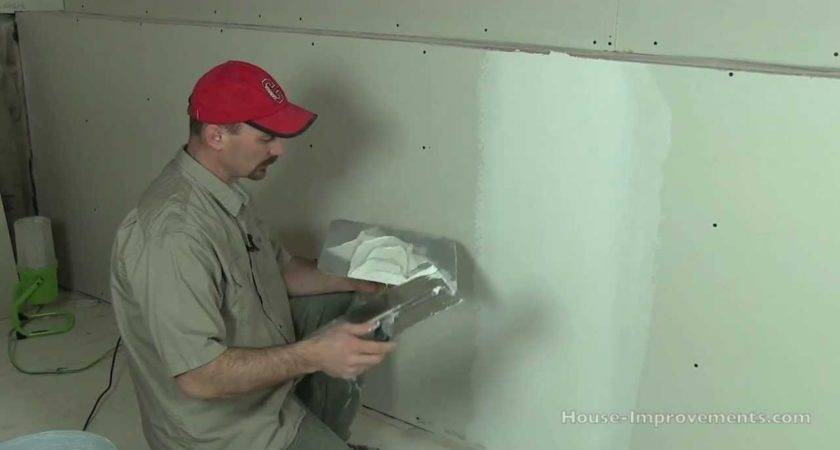 Mud Tape Drywall Butt Joints Youtube