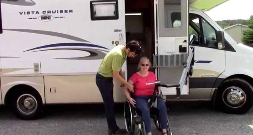 Multi Lift Disability Handicap Motor Home