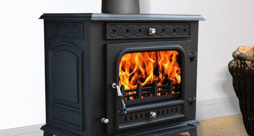 Multifuel Woodburner Stove Wood Burning Log Burner Modern