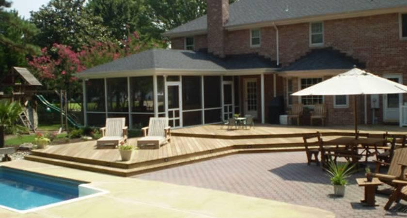 Multilevel Deck Builder Design