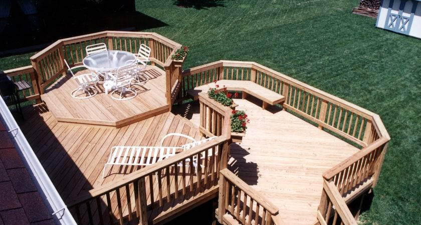 Multilevel Deck Design Ideas Archadeck Louis