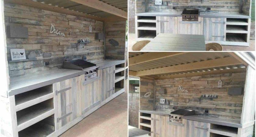 Must Pallet Outdoor Dream Kitchen Ideas