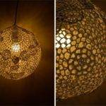 Myhobbyshop Diy Tutorial Doily Pendant Lamp