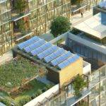 Nanjing Eco Housing Feature Cascading Living Walls