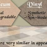 Natural Artificial Linoleum Flooring Vinyl