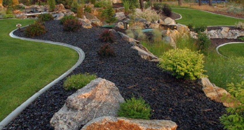Natural Large Rocks Landscaping Homesfeed