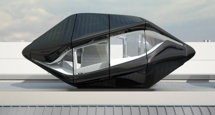 Nau Architects Unveil Self Sustaining Living Roof Pod