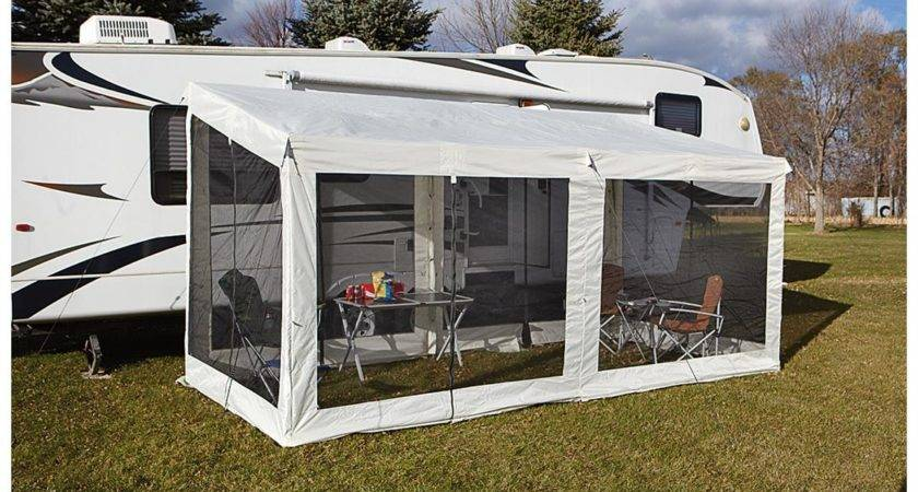 New Add Screen Room Space Camping Sun