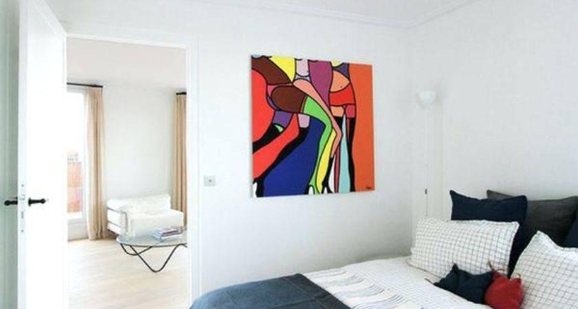 New Bedroom Abstract Art