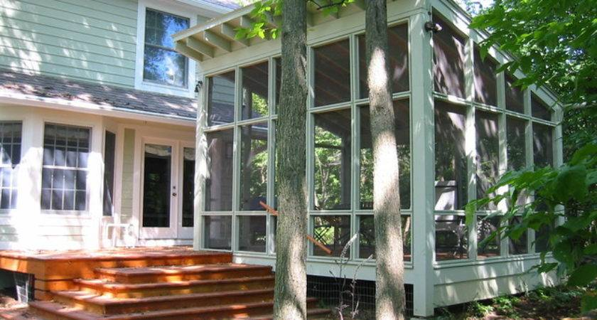 New Detached Screened Porch