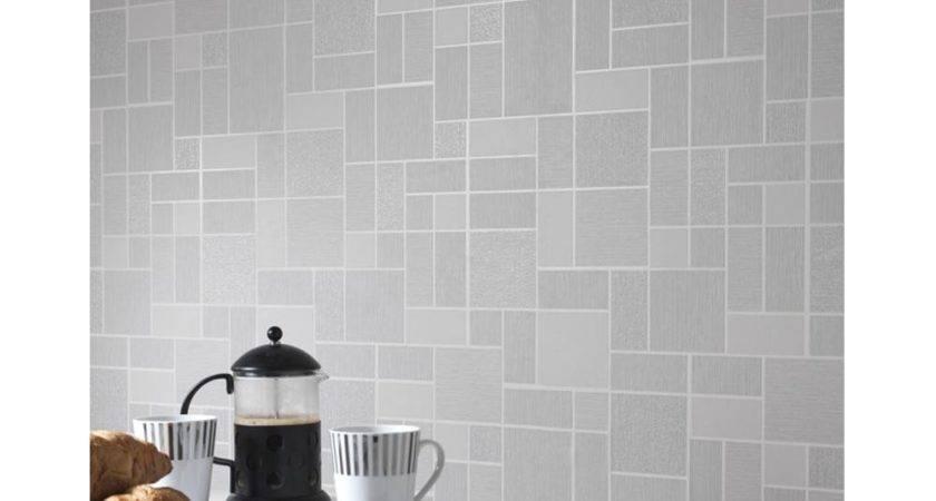 New Holden Cor Tile Pattern Glitter Motif Kitchen