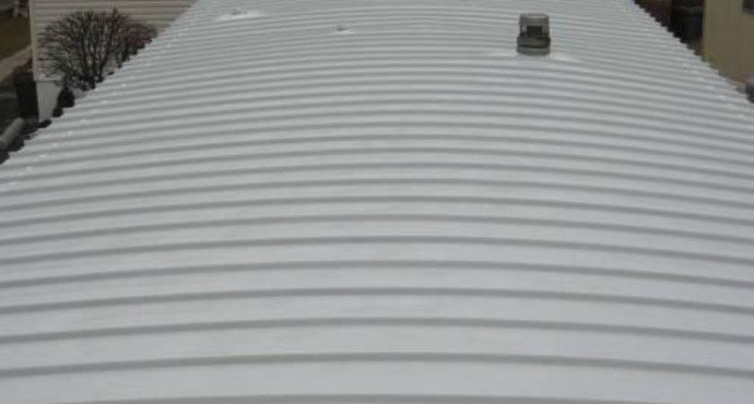 New Mobile Home Roof Machose Contractors Allentown