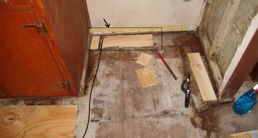 New Plywoold Subfloor Top Old One Flooring