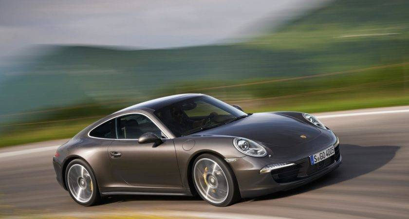 New Porsche Carrera Awd Models