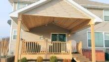 New Roof Over Existing Deck Des Moines Builder