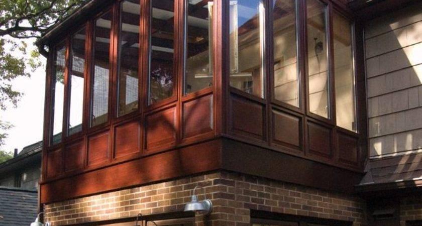 New Sunroom Photof Conservatory Built Upper Level