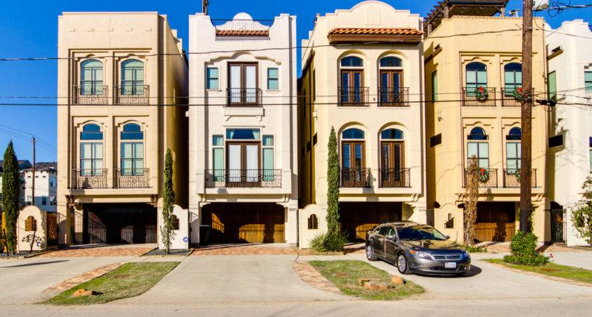 New Townhomes Sale Houston