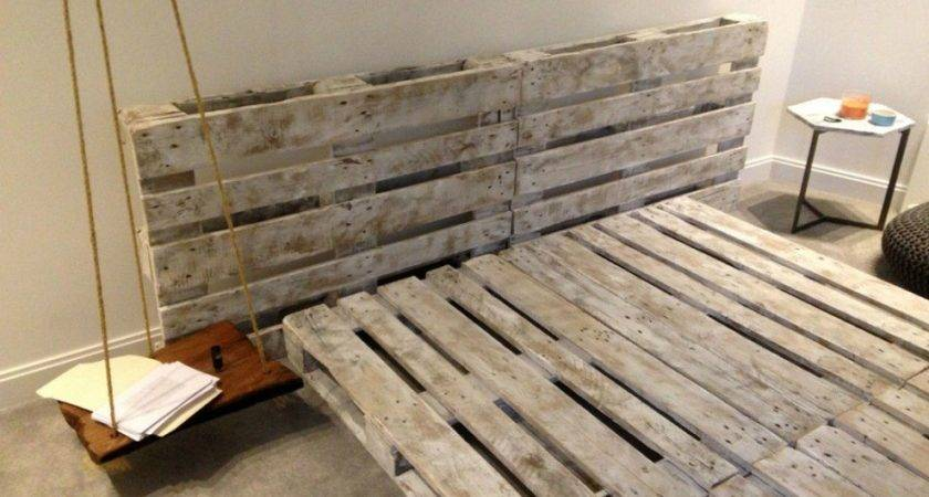 New Trend Wood Pallet Bed Frame Crustpizza Decor