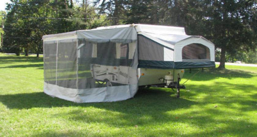New Trimline Zipper Add Room Pop Awning