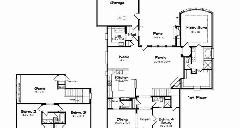 New Two Story House Plans Large Kitchens Plan