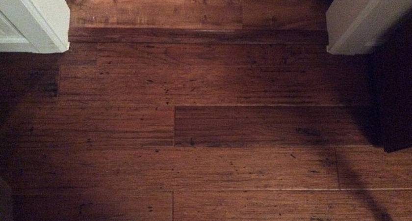 New Vinyl Hardwood Flooring Replace Water Damaged