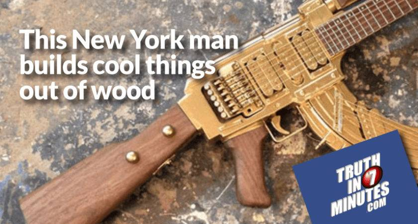 New York Man Builds Cool Things Out Wood Video