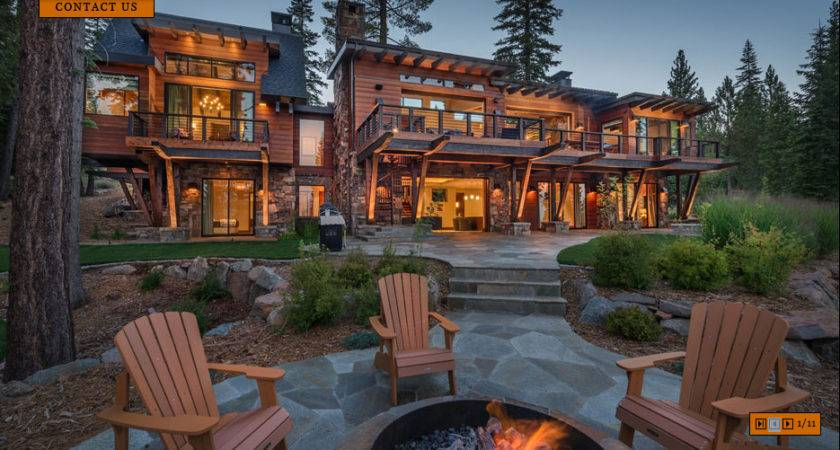 Newly Built Contemporary Mountain Home Truckee